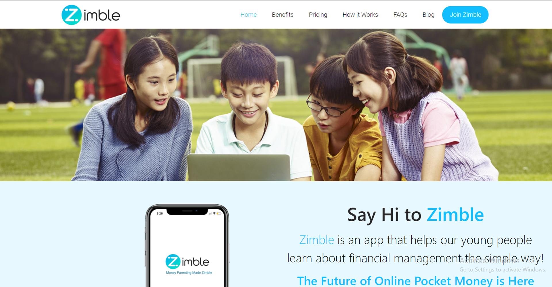 Zimble Home Page