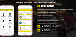 Top Mobile App Development Company Transportation App