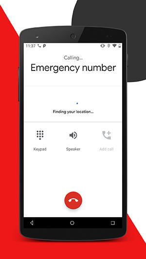 Call emergency responder