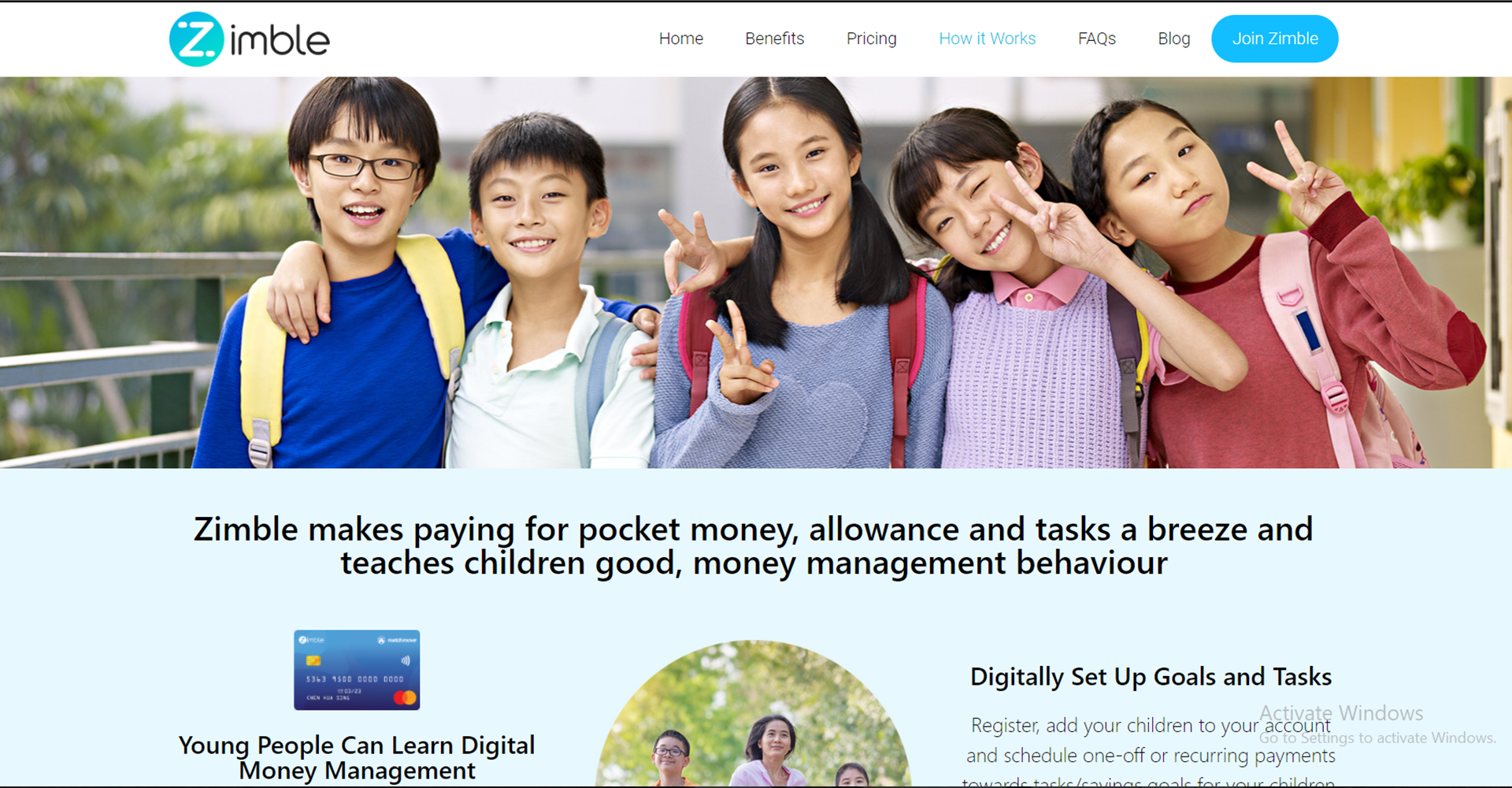 Zimble how it works Page
