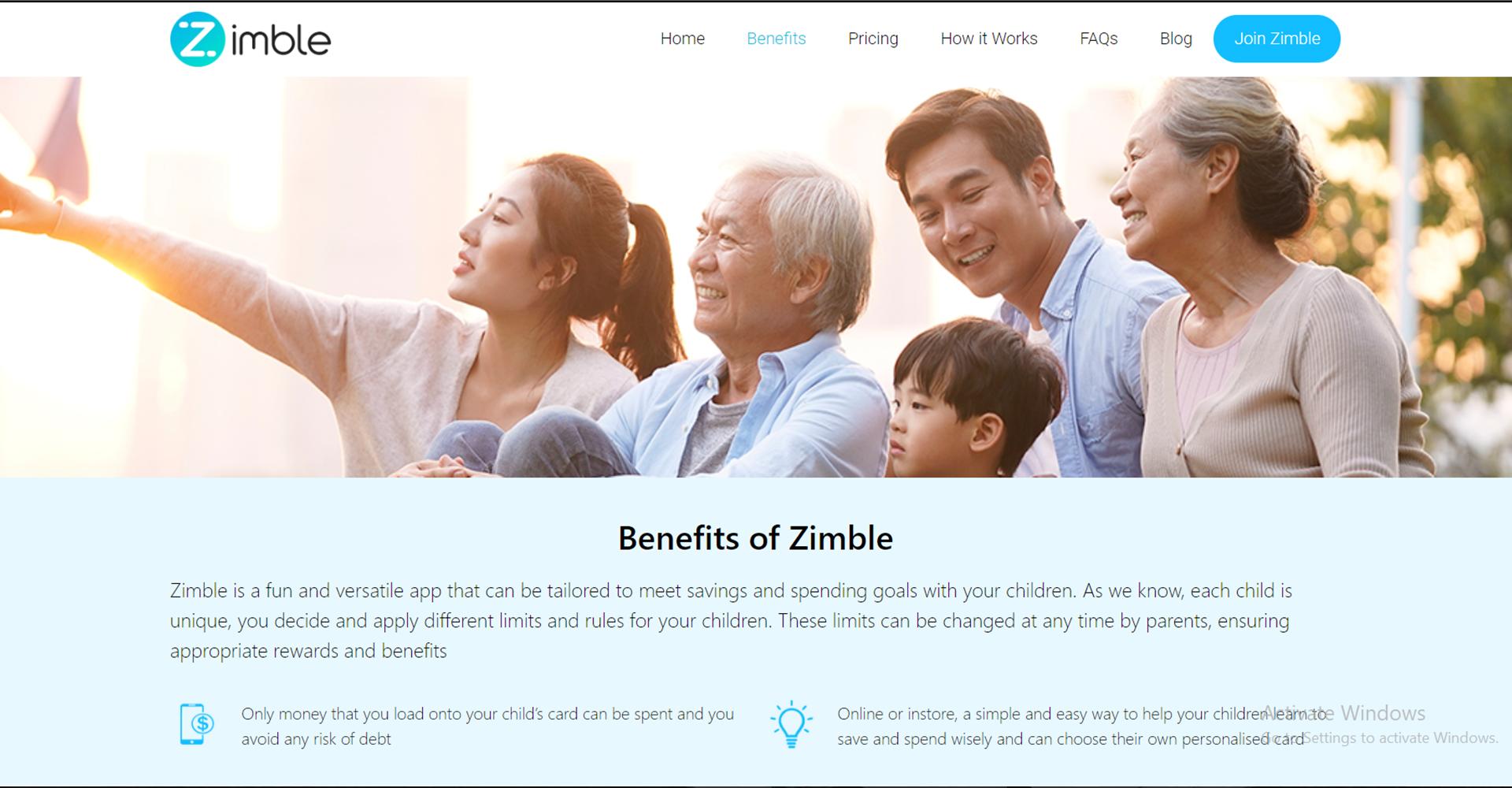 Zimble benefits of zimble Page