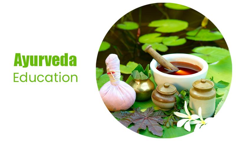 Ayurveda education ecommerce store