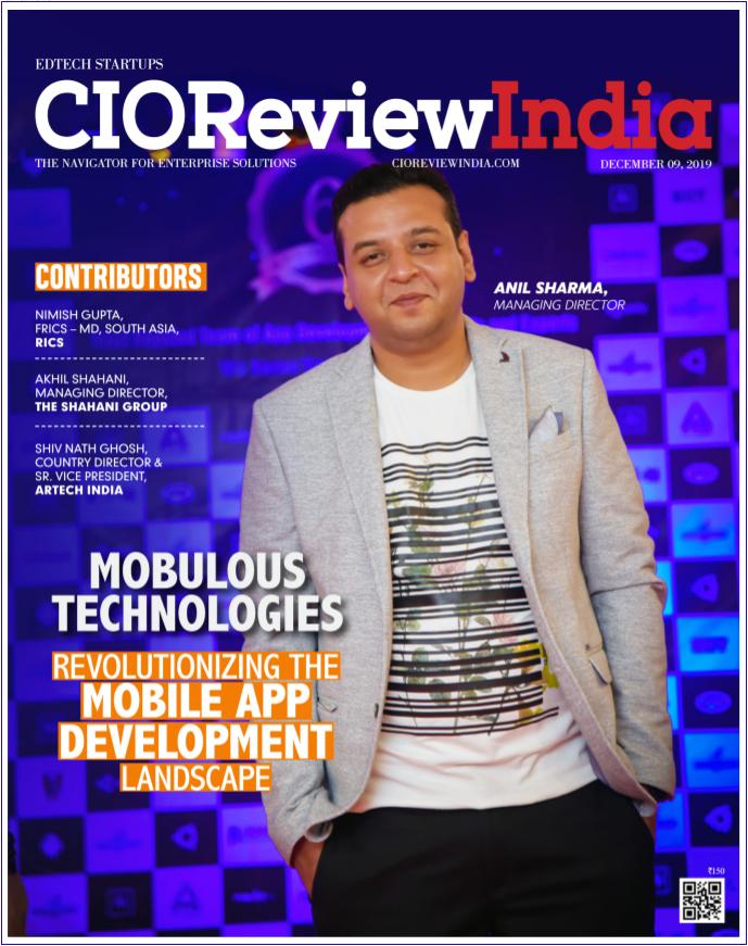 CIOReviewindia mobulous magazine