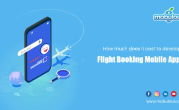 Cost develop flight booking app