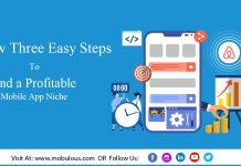 Follow three easy steps to find a profitable mobile app niche