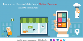 online business stand