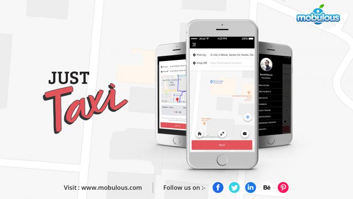 Just_taxi_app