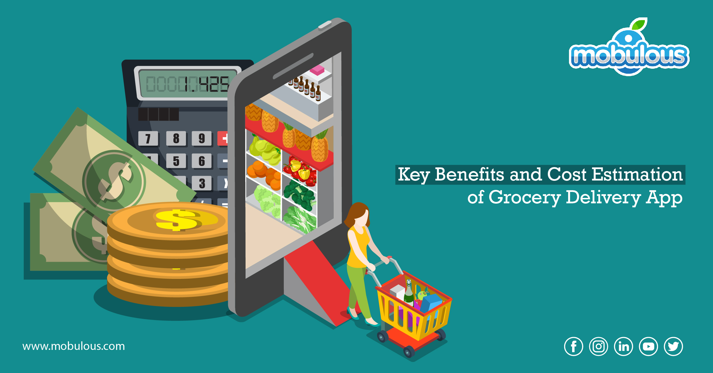 Key Benefits and Cost Estimation of Grocery Delivery App