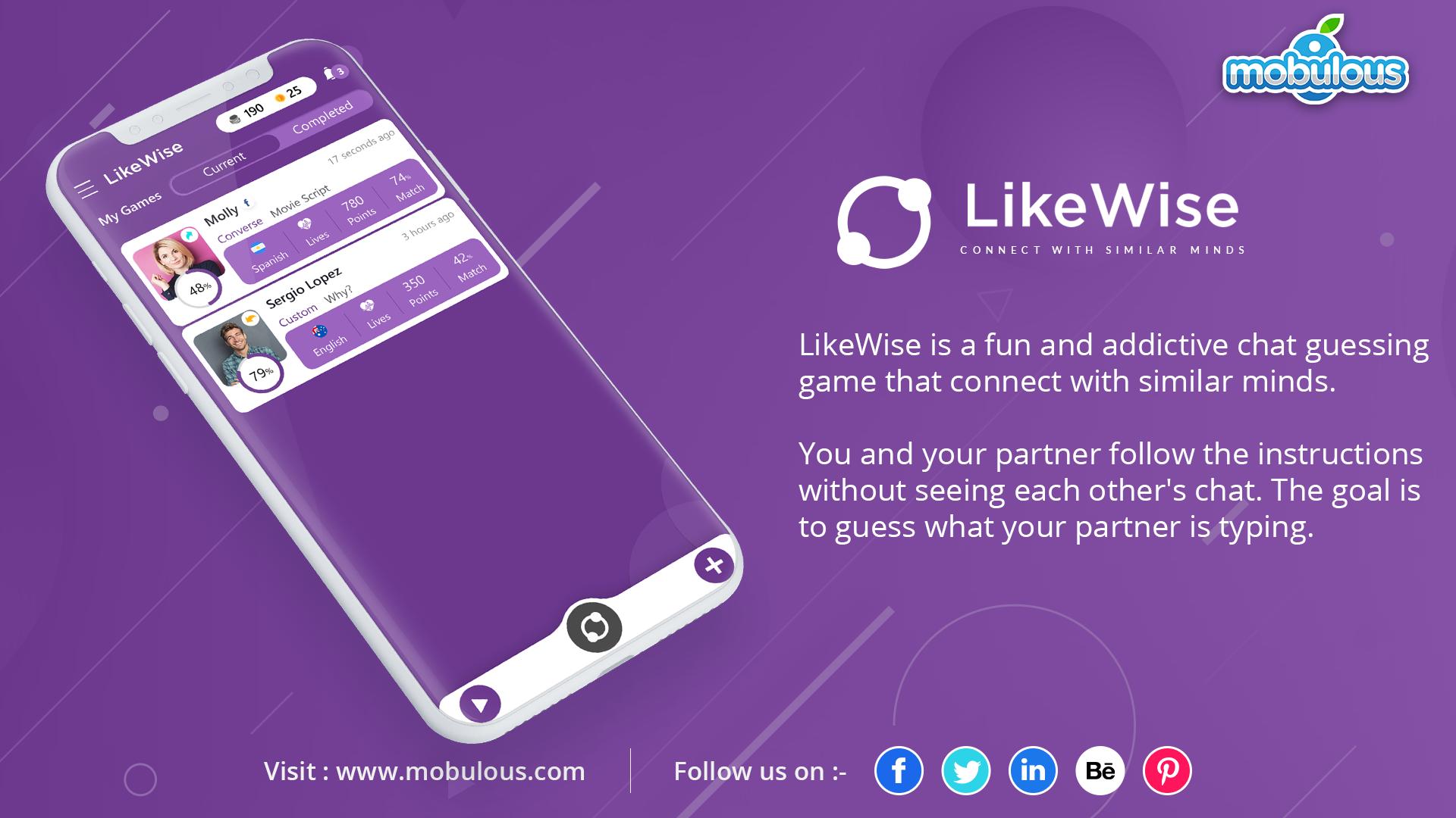 Likewise app