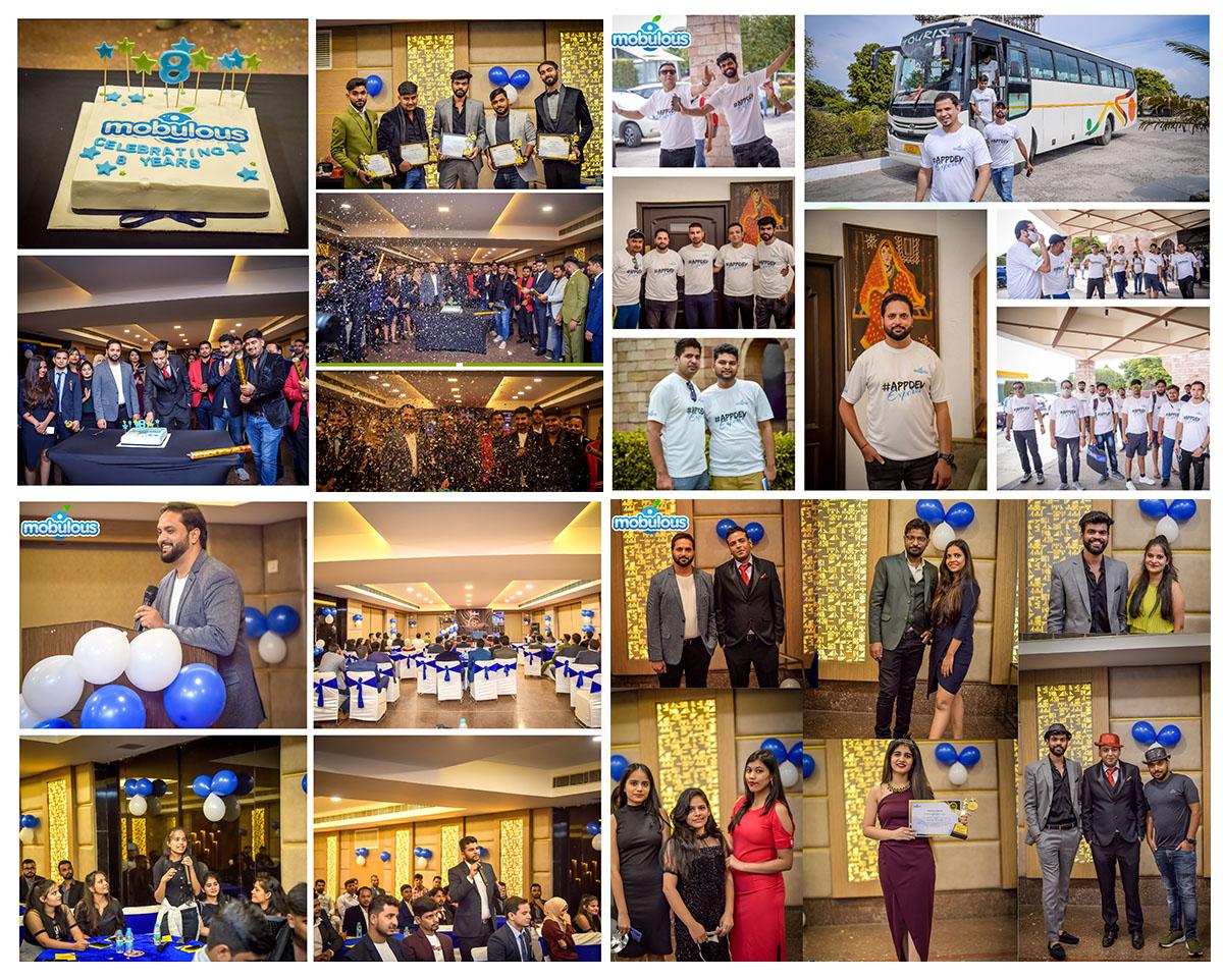 Mobile App Development Company 8th Anniversary Celebration