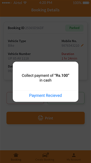 Online payment collection