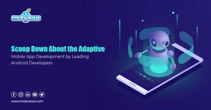Scoop Down Adaptive App Development