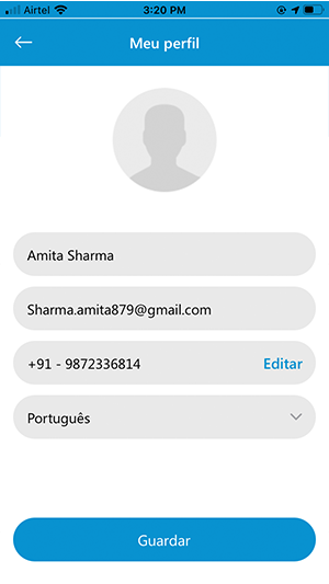 User My Profile