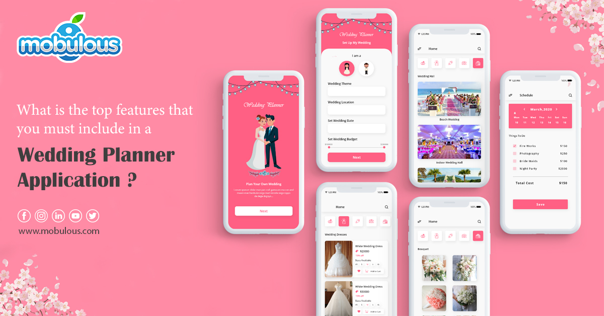 Wedding Planner Application