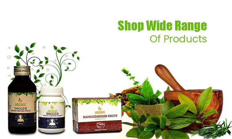 Wide Range of ayurvedic products
