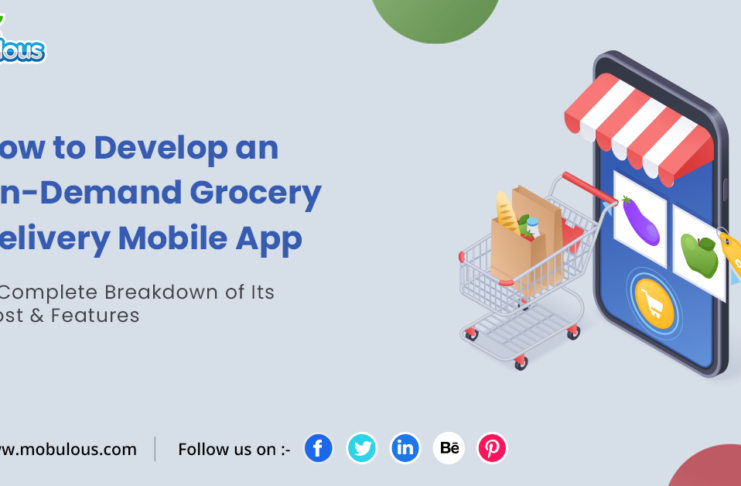 Develop an On-Demand Grocery Delivery Mobile