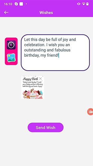 send wish