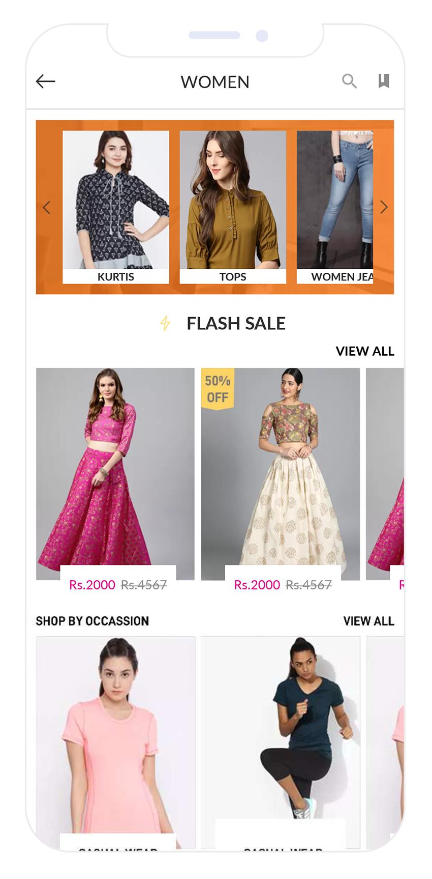 E-commerce Product Listing