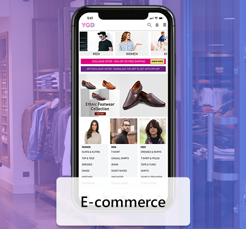 E-commerce App Development
