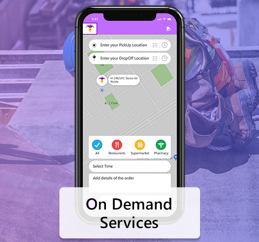 On Demand Services App Solution