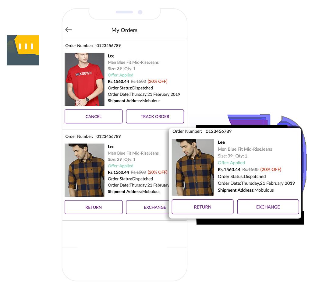 E-commerce My orders