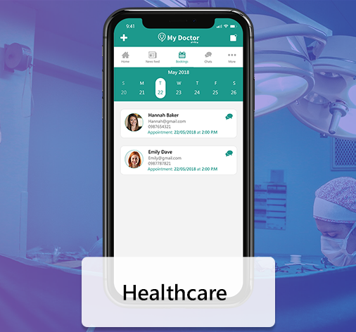 Healthcare App Solution