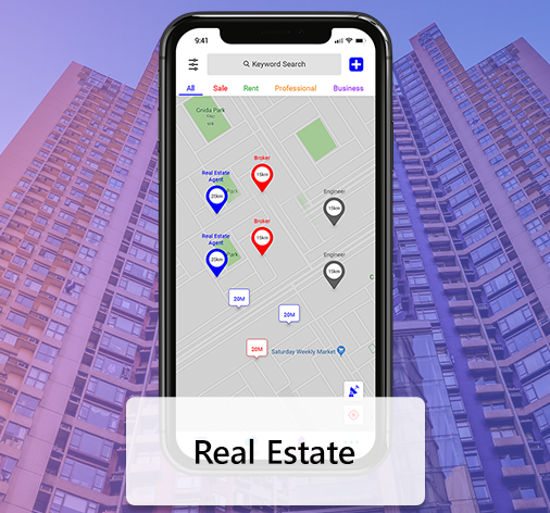 Real Estate App Development Solution