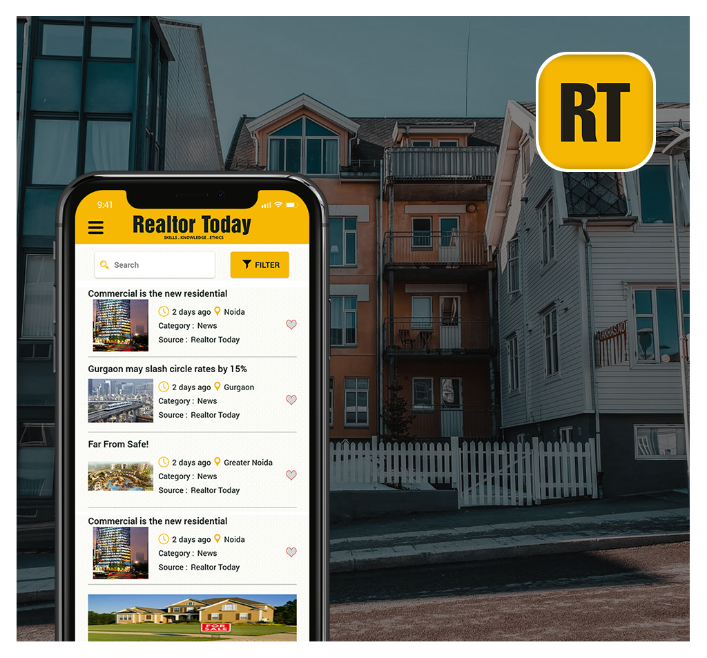 Realtor Today Real Estate App Development
